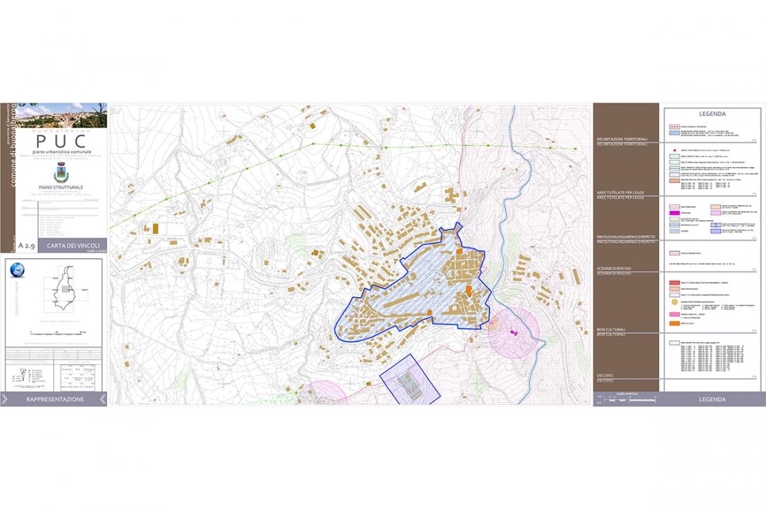 Piano Urbanistico Comunale Buonalbergo